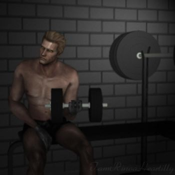 Wesker-Hard At Work by IamRinoaHeartilly