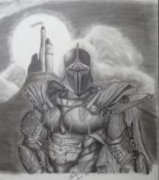 The Black Knight by JEURO85