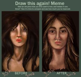 Meme  Before And After by Daydreama