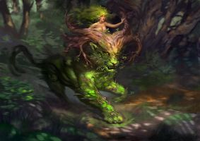 Forestspirit P by Ketka