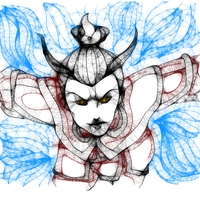 Enraged Azula by Spi-ritual-ity