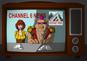 Hostage Crisis at Channel 6 by Fusilli-Jerry