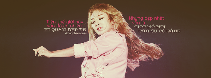 [16.06.14] Cover Quotes Hyoyeon by ThaoPhanSone