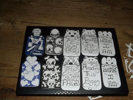 My first Bookmarks by sealotsgirl
