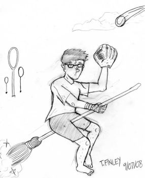 'Arry Potter-Pencil by Angryviking