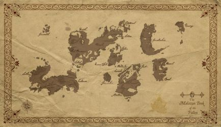 Malazan World Map by Corporal--Nobbs