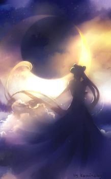 Dream of the moon by kaminary-san