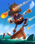 Pirate by frogbillgo