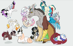Discord's many children by M00N-FRUIT