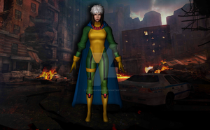 Rogue (Age of Apocalypse) by Pitermaksimoff