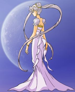 Princess Serenity by TwoTigerMoon