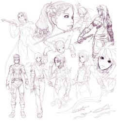 Sketch Compilation 7 by minties