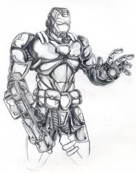 Ironman by theR3AP3R