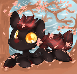 Flowers and petals :3 by Fluffire