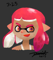 Splatoon 2 Inkling by Metagaim