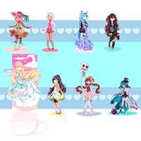 Pixel Commissions Batch 2 by MarchBunny