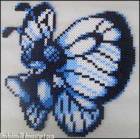 Butterfree Bead Sprite by Ginabobina101