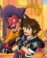KH2: Hunchback of Notre Dame by Carro-chan