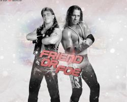 Bret Hart and Shawn Michaels Wallpapers by Mr-Enjoy
