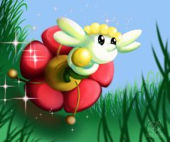 Fanart: Flabebe by LunnaHowell