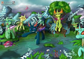 The Changelings by Calenita