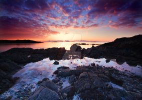 Arisaig Sunset by DL-Photography