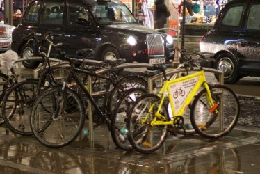 Yellow Bicycle by kingofechidnas