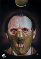 Hannibal Lecter by ACrowley