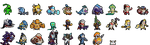 League of Legends Character 32x32 Sprites by Johasu