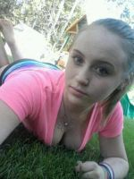 Outside laying in the grass by A-Passionate-Goodbye