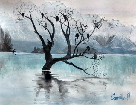 Ice Water Color by Camelibi