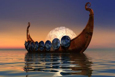 Viking Boat 2 by Coreycupcake