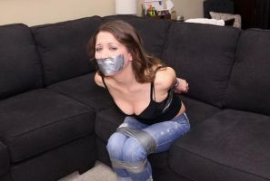 He Bound and Gagged The New Girl Next Door by Finisterboy