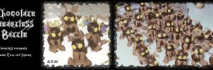 Chocolate Heartless Battle by Rebmakash