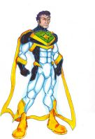 Masters of Justice: Dynamo The Nuclear Man by FrischDVH