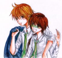 Green Expedition -couple 1- by LiniAriva