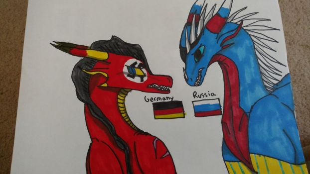 Germany and Russia by metalandwings