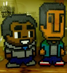 Community: Troy and Abed on your desk by ph00