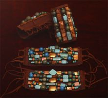 Mayan Arm Bands by TimBakerFX