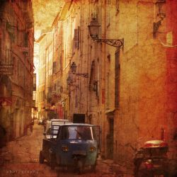 siesta in the old town by ildiko-neer