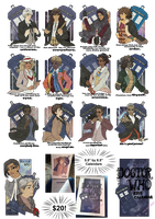 Femme!Doctor Who Calendar! by inkscribble