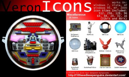 VIcons - Miscellaneous by 100SeedlessPenguins