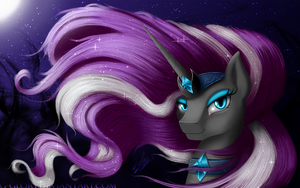 Nightmare Rarity portrait by G-Glory