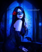 Mask of a Rose by MysticSerenity