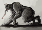Monster concept! by MidnightZone
