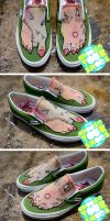 Zombie Shoes, take 2 by mburk