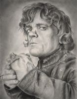 Tyrion Lannister (Peter Dinklage) by AnnaGray