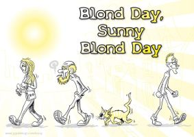 Blond day, sunny blond day by jypdesign