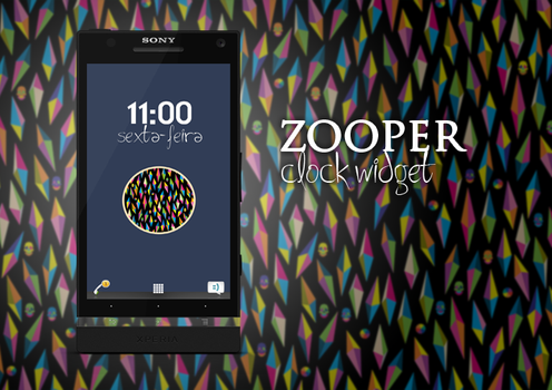 Zooper Clock Widget 1 by RetroAndRoll