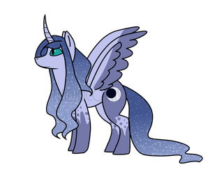 Princess Luna Redesign by EliteUnicorns